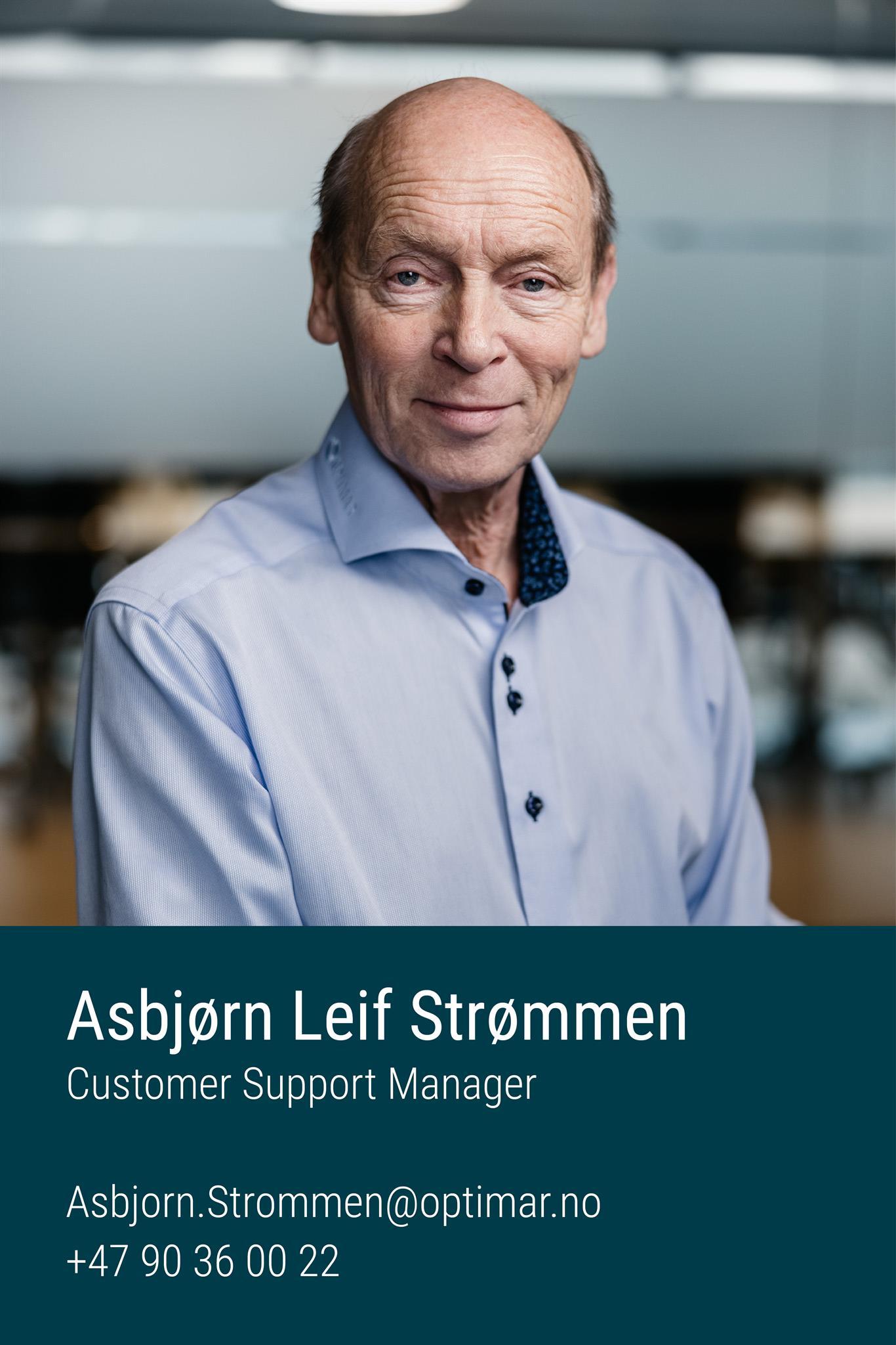 Asbjørn Leif Strømmen