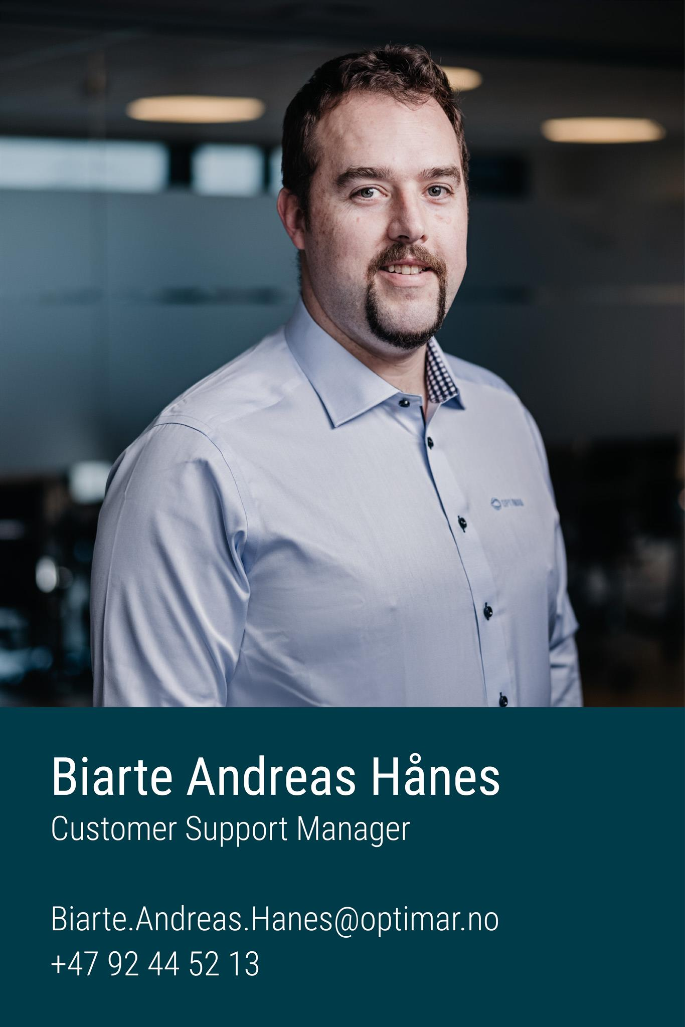 Biarte Andreas Hånes