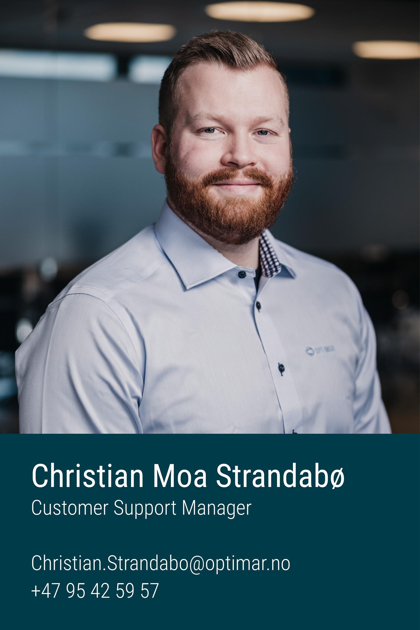 Christian Moa Strandabø