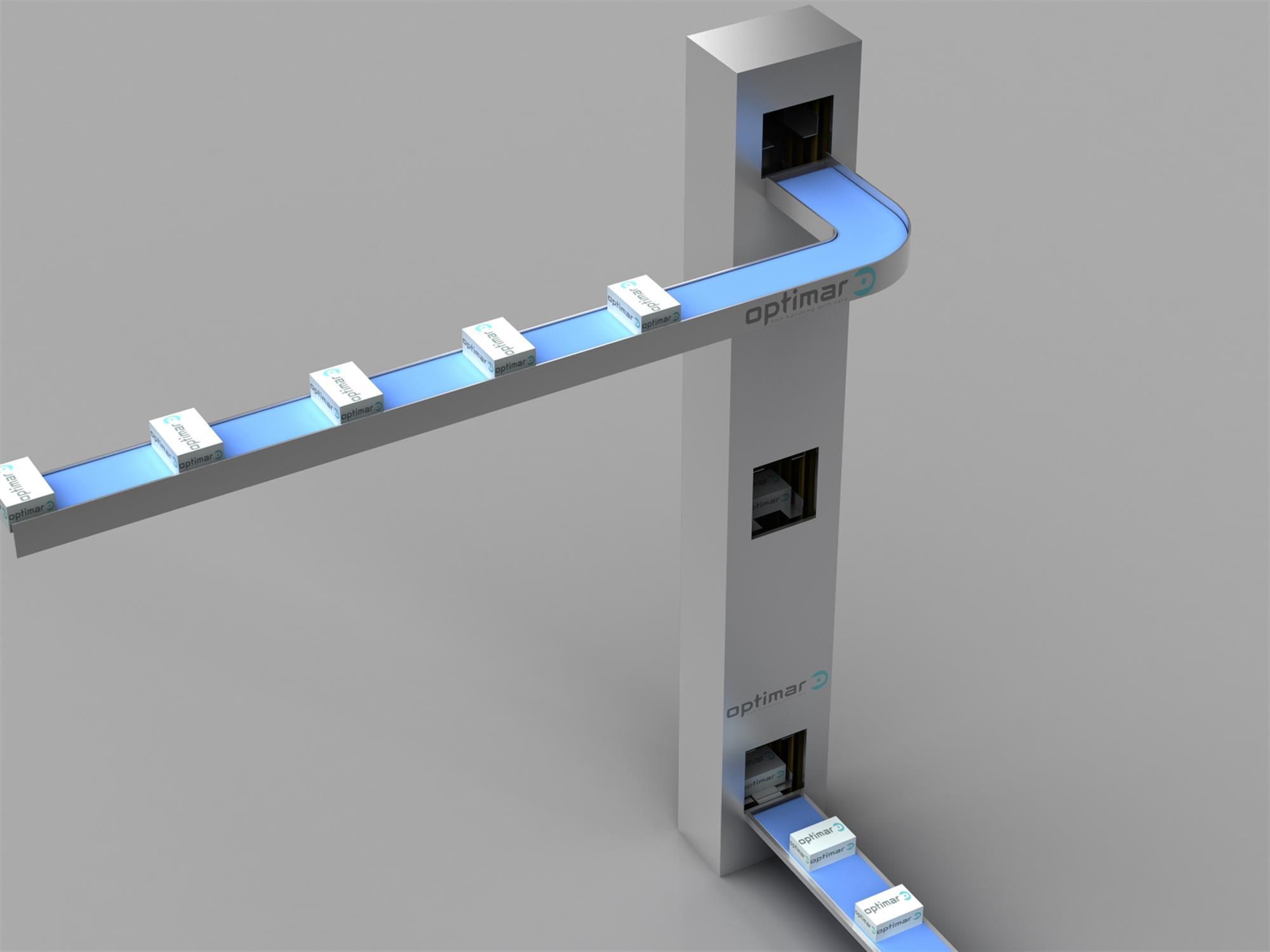 Combined elevator
