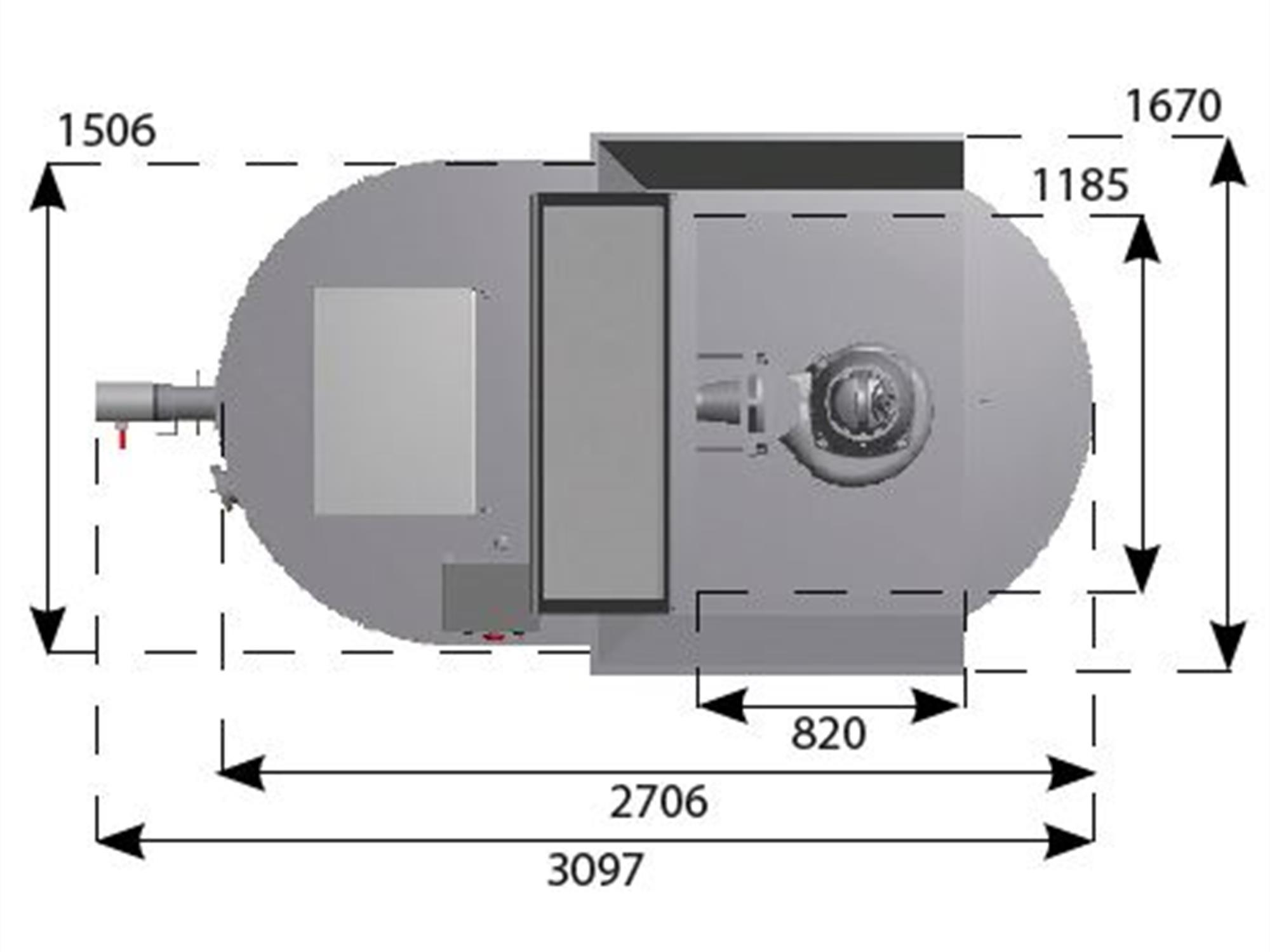 Målskisse 1 GRP 3500 Kverntank