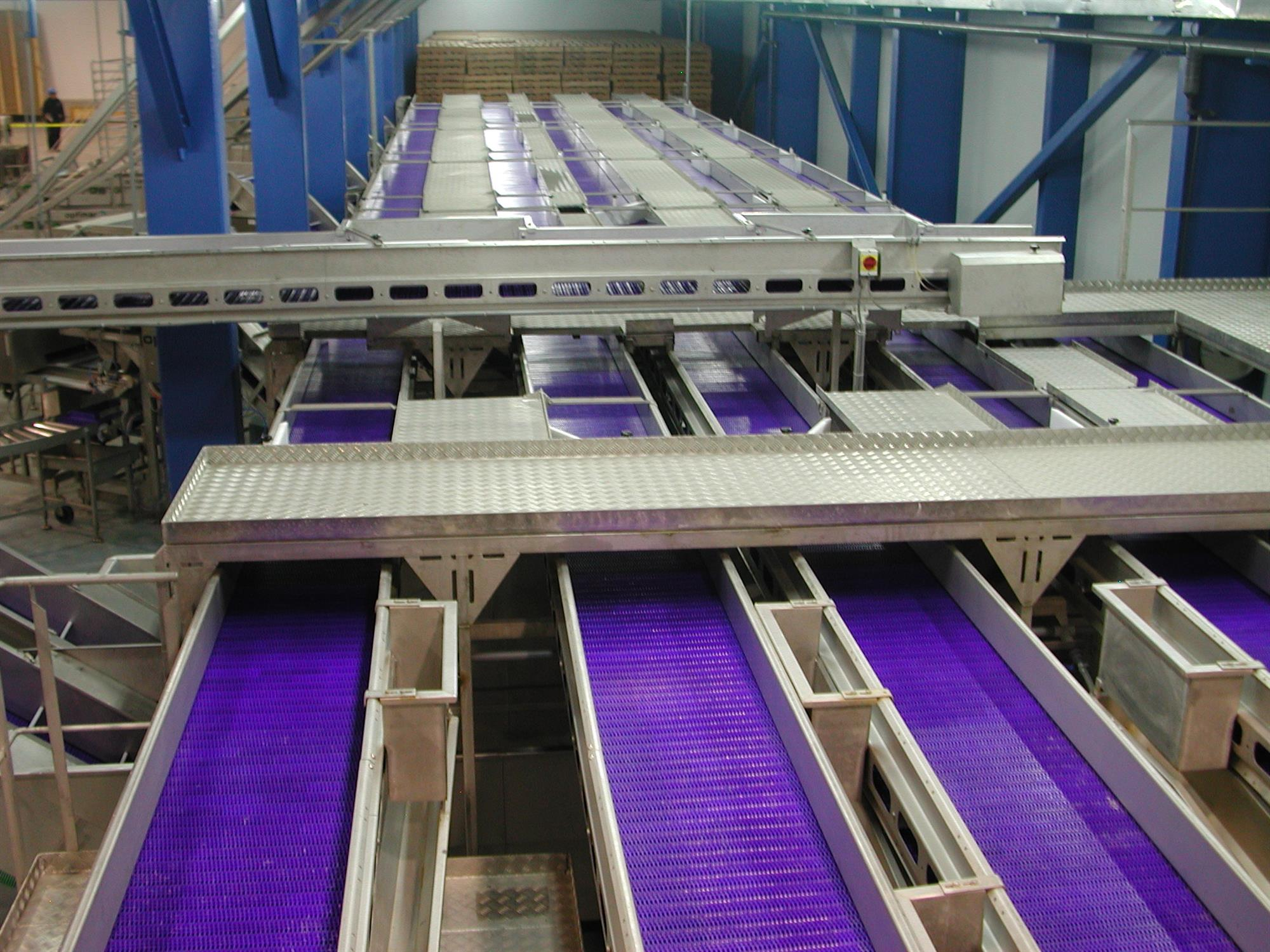 Distribution conveyors